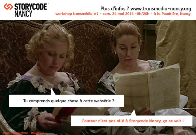 Storycode Nancy - auteur