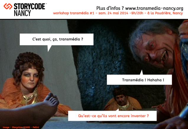 Storycode Nancy - transmédia